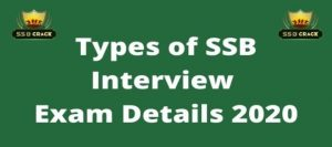 Types of SSB Interview