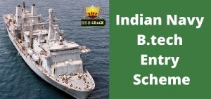 Indian Navy B.tech Entry Scheme